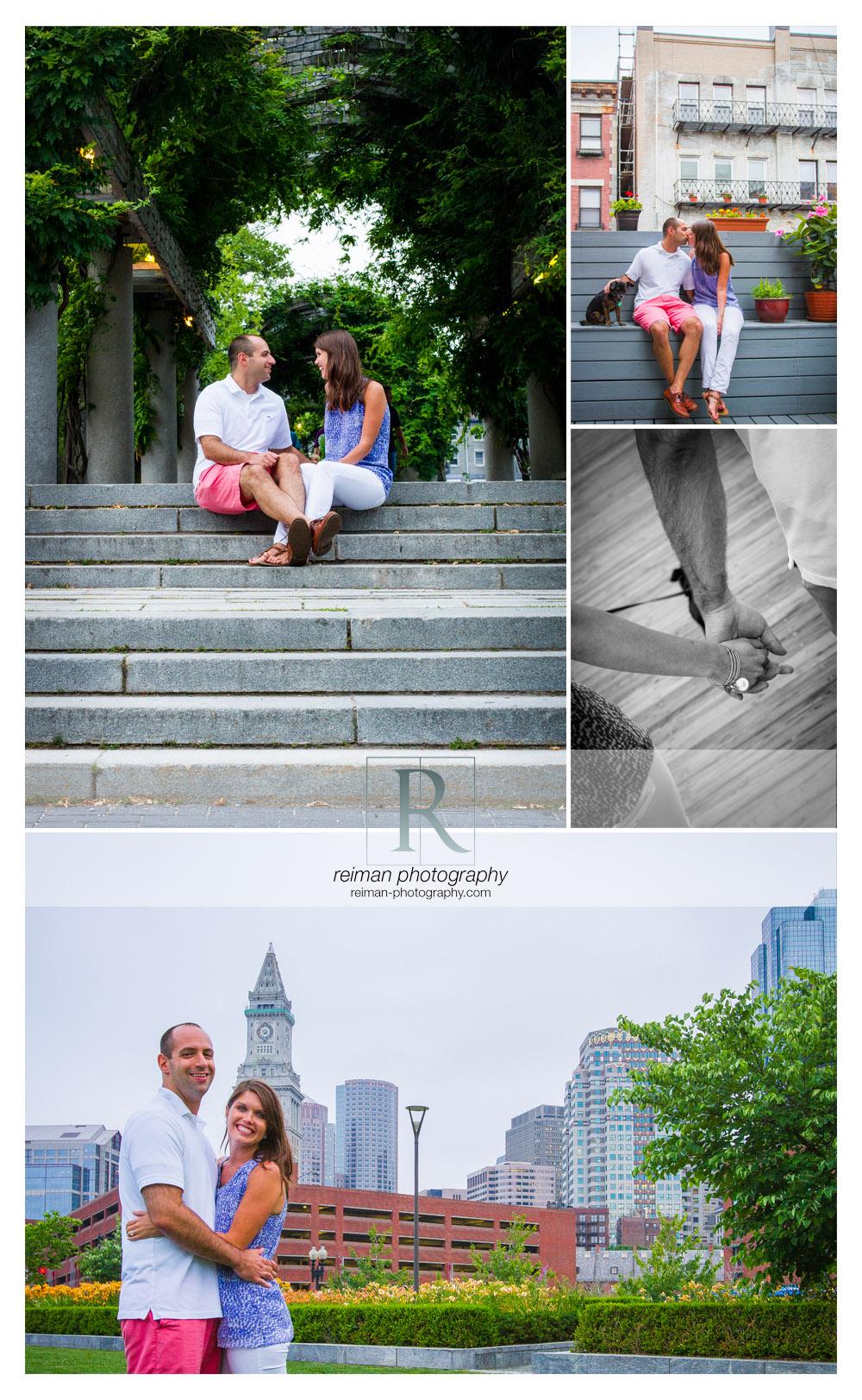 Boston Public Garden Engagement, Reiman Photography, Boston Engagement Photographer