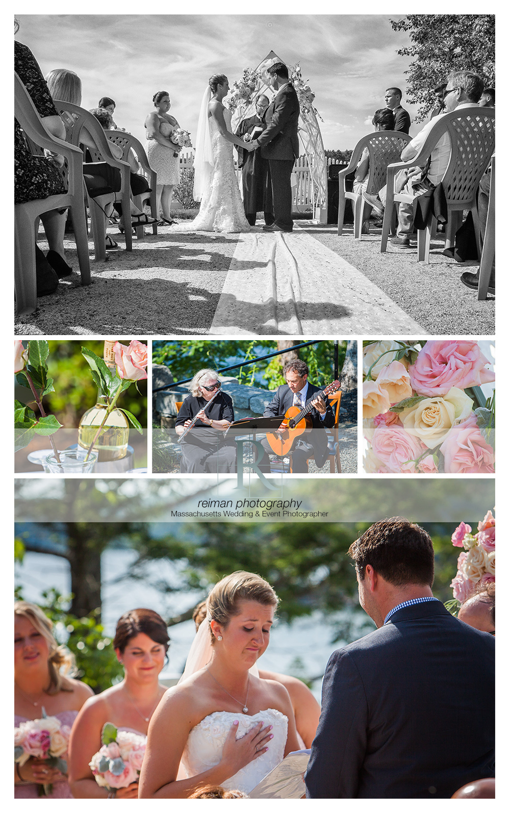 Wedding at Point Breeze on Webster Lake