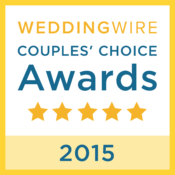 WeddingWire Couples' Choice Award 2015