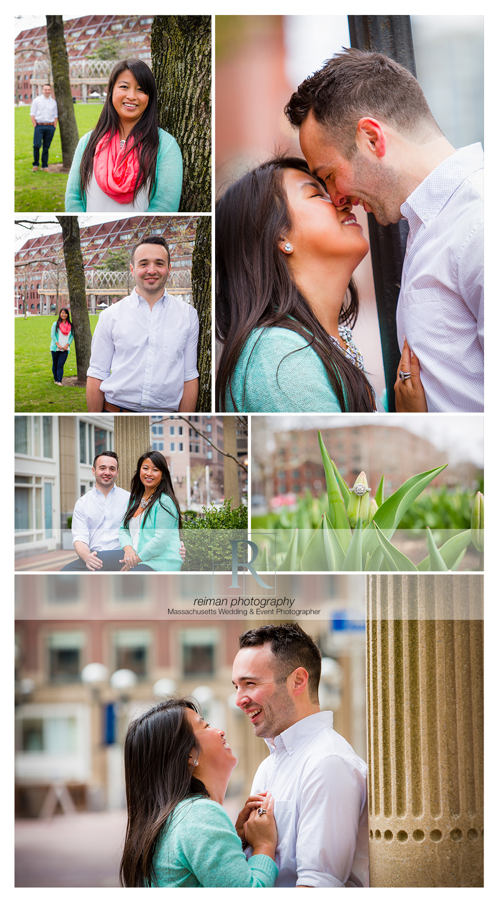 Waterfront, Engagement Session, Boston