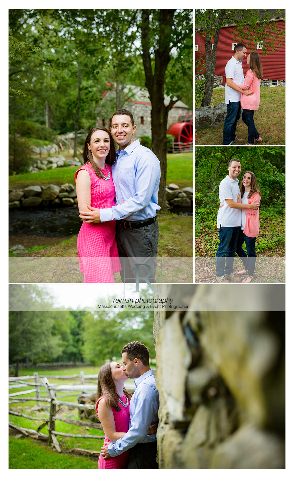 Reiman Photography, engagement, Sudbury Grist Mill