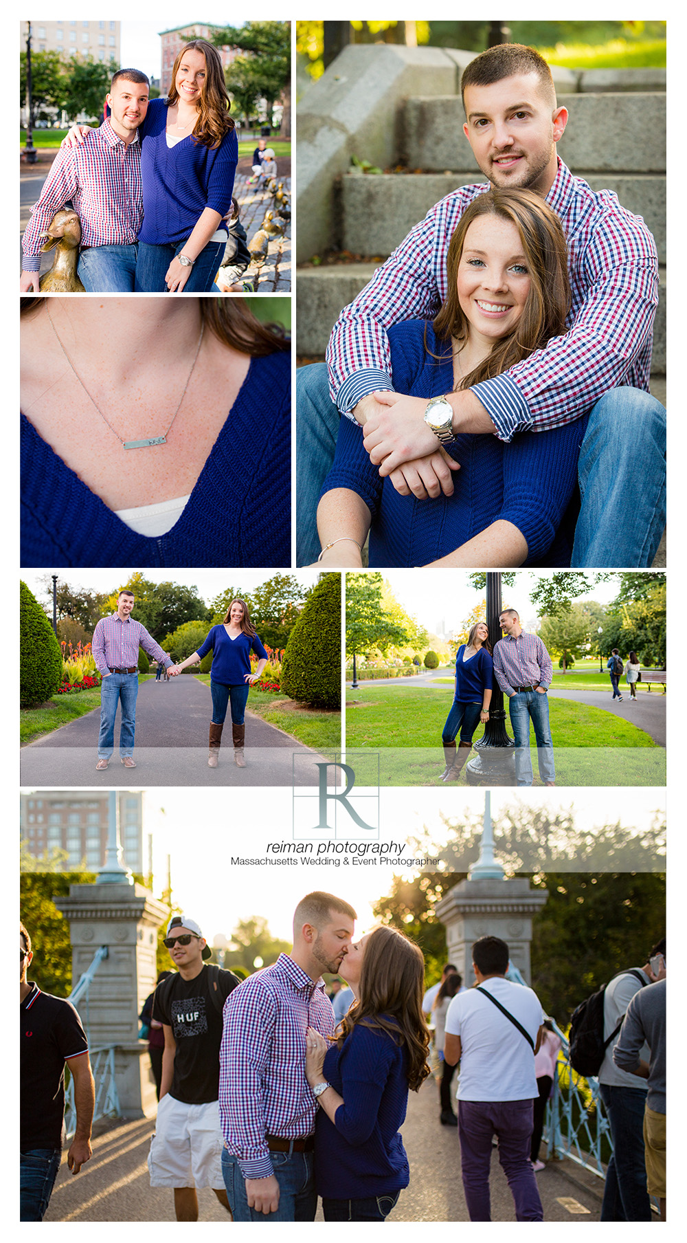 Reiman Photography, engagement, Boston Public Garden