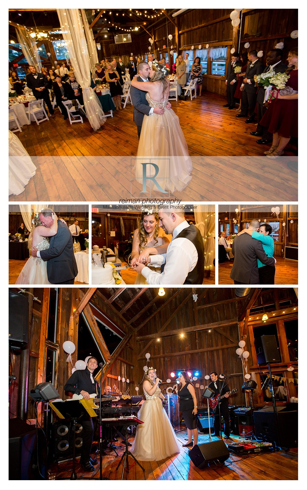 The Red Barn at Hampshire College, Wedding, Reiman Photography, Rustic