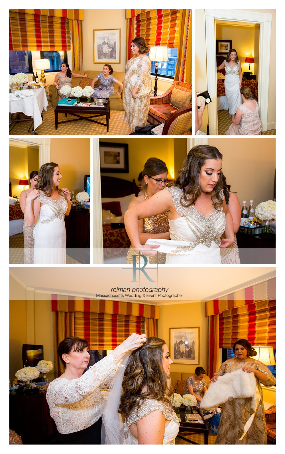 Wedding, New Years Eve, The State Room, Boston, Reiman Photography