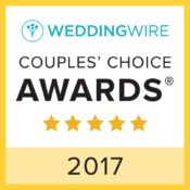 WeddingWire Couples' Choice Award 2017
