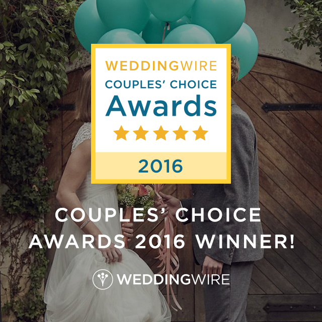 WeddingWire Couples Choice 2016-Reiman Photography