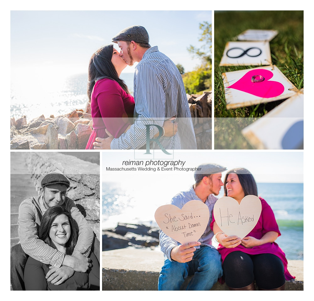 Cliff Walk, Newport, Reiman Photography, Engagement