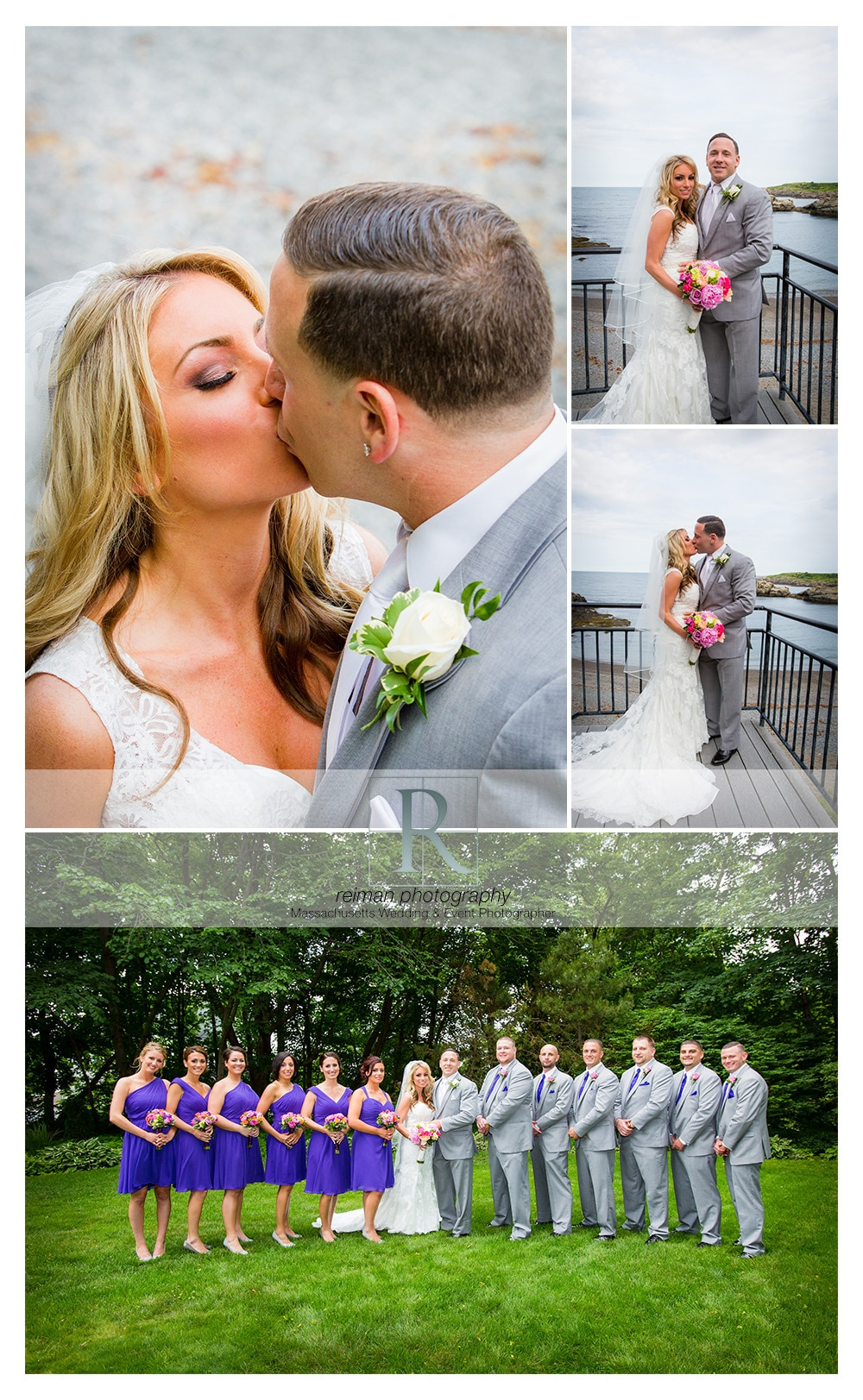 Nahant Country Club, Reiman Photography, Wedding