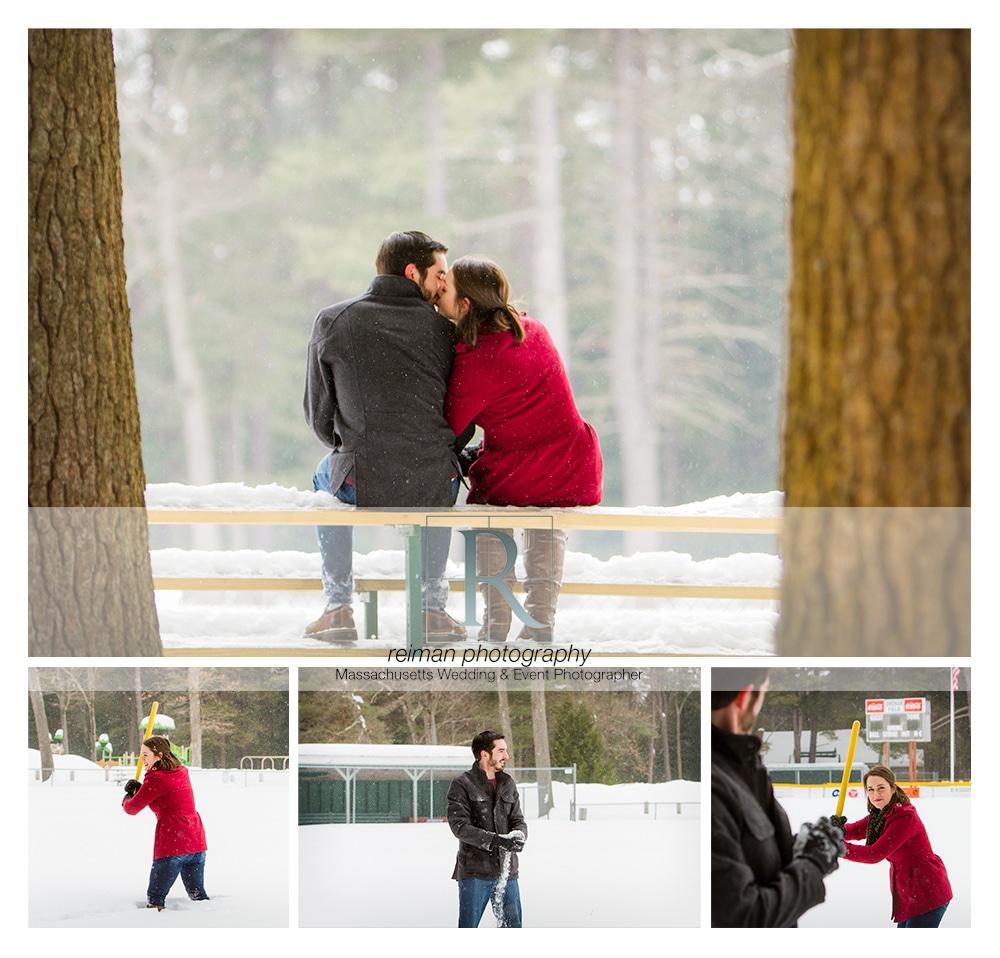Nonotuck Park Engagement 1