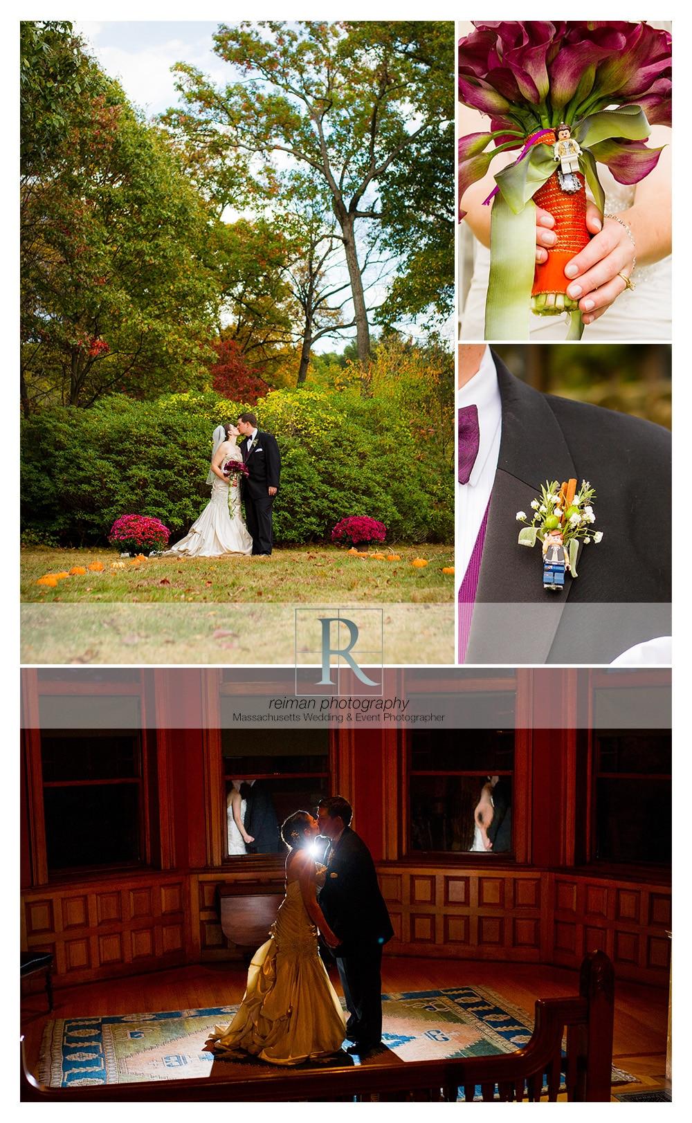 Stonehurst The Robert Treat Paine Estate, Wedding, Reiman Photography