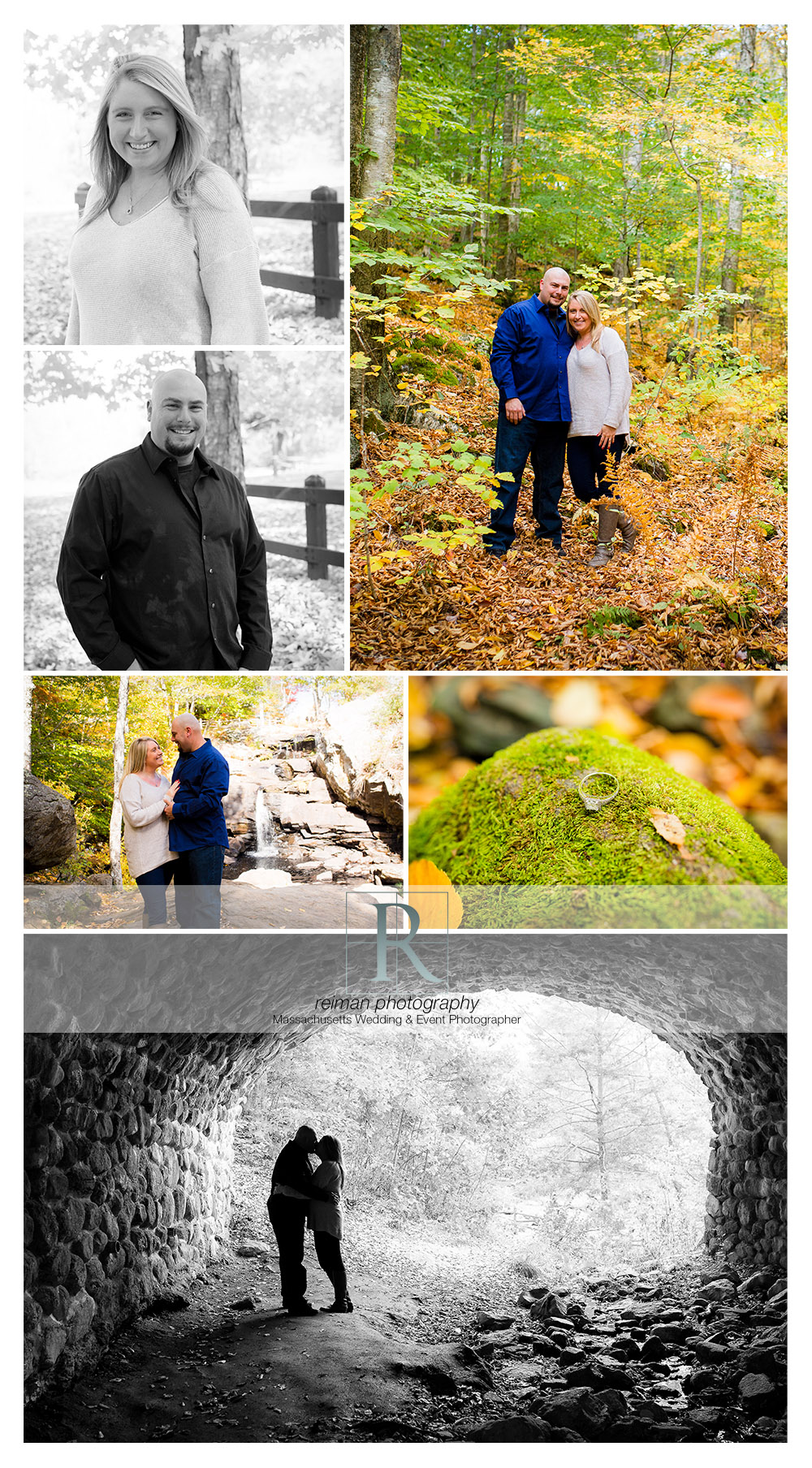 Devil's Hopyard, Engagement Session, Reiman Photography, Fall