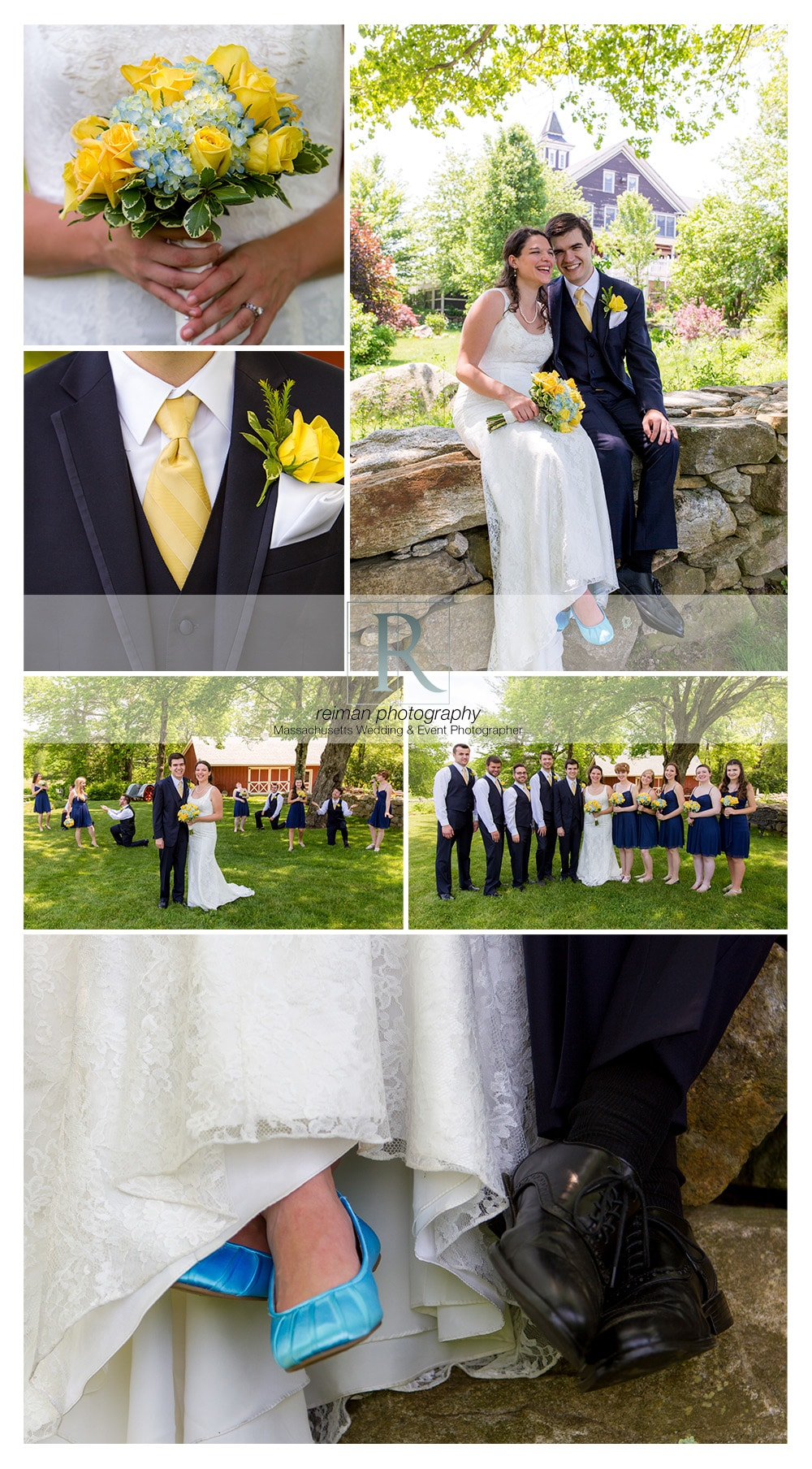 Spring Wedding at Blissful Meadows