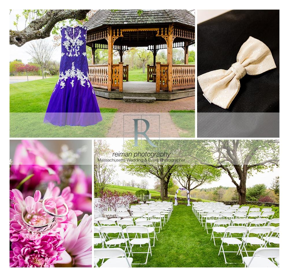 Springtime Wedding, Spencer Country Inn, Reiman Photography