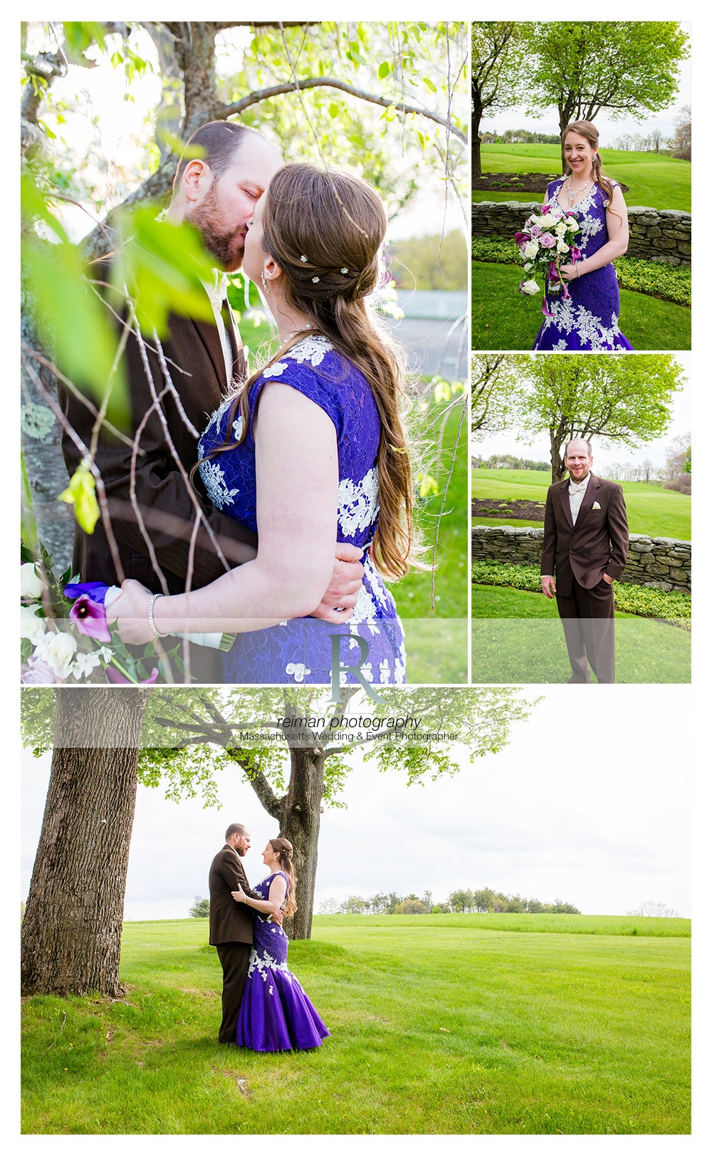 Springtime Wedding At The Spencer Country Inn Reiman