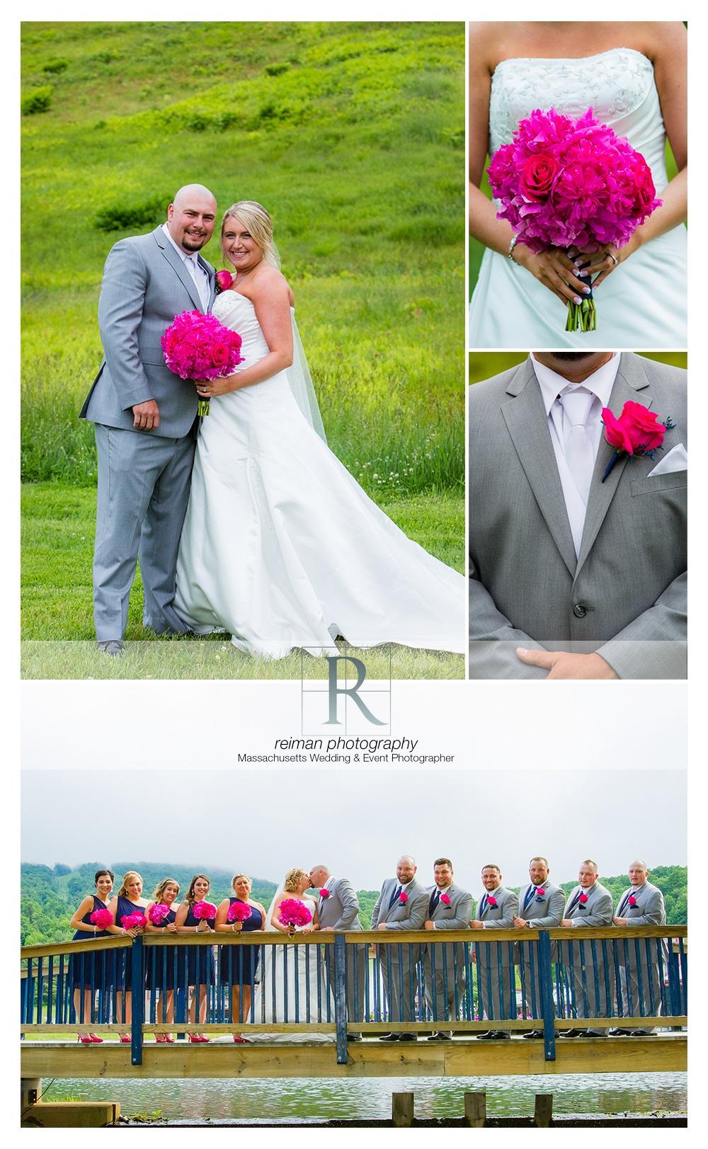 Summer Wedding at Wachusett Mountain