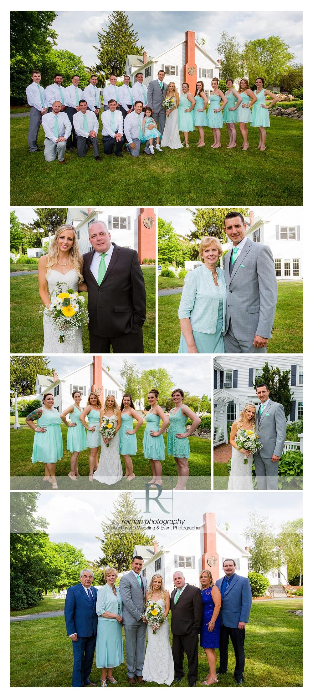 Summer Wedding at the Warren Conference Center