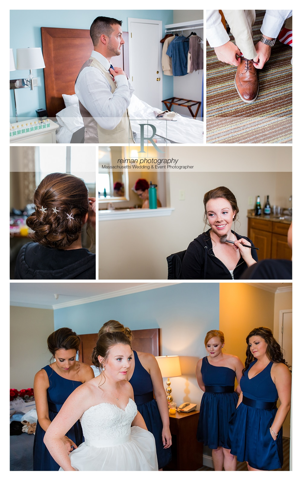 Nautical Wedding, Union Bluff, Reiman Photography