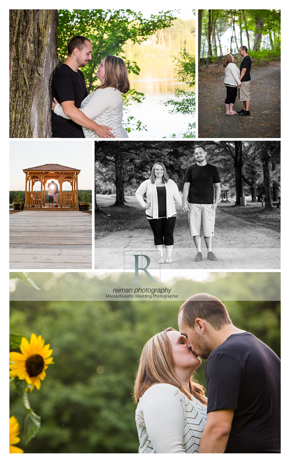 Roseland Park Engagement, Woodstock, CT, Reiman Photography