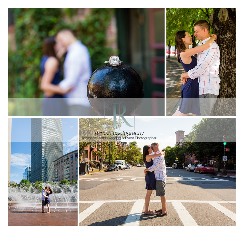 South End, Engagement, Reiman Photography