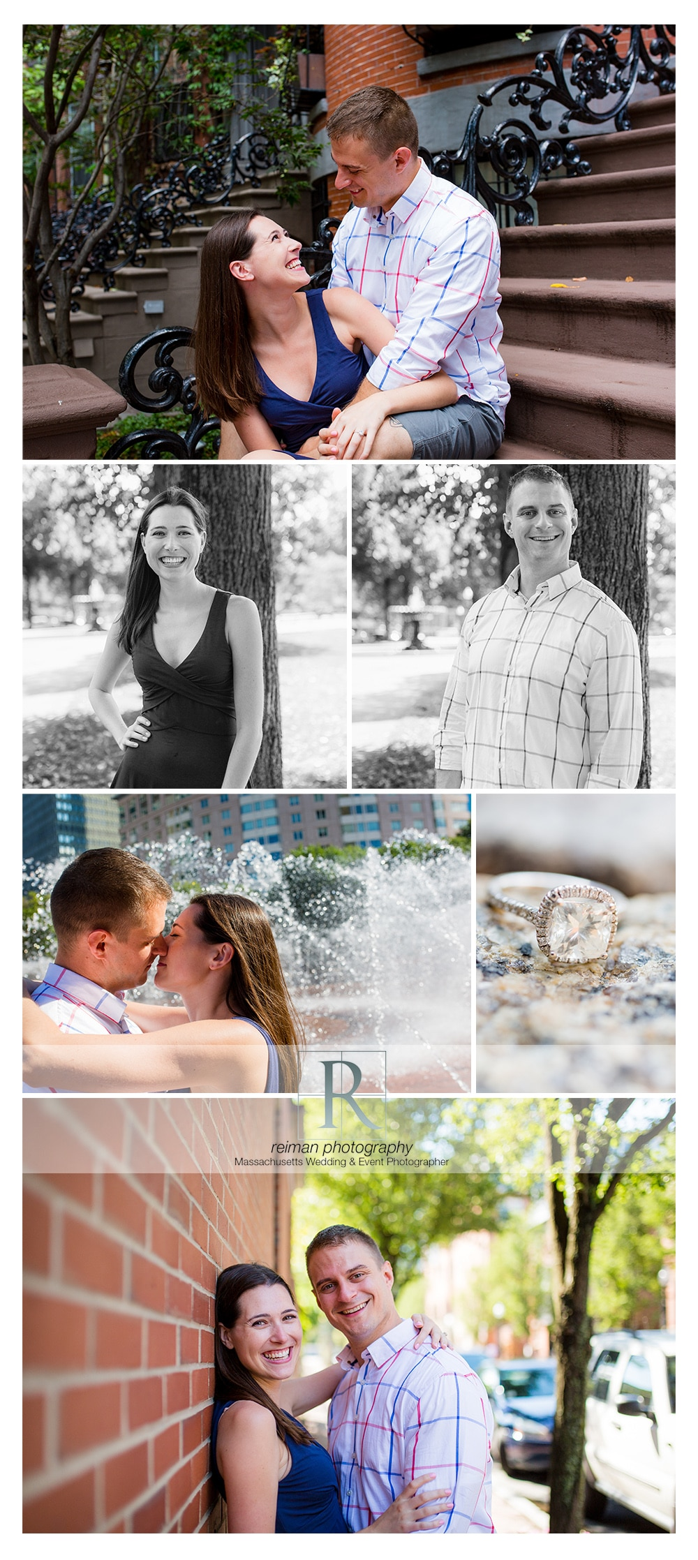 South End Engagement Session