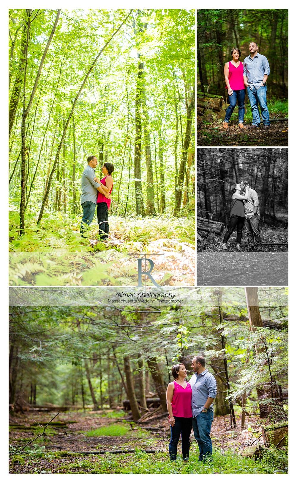 Mass Audubon Arcadia Wildlife Sanctuary, Engagement, Reiman Photography
