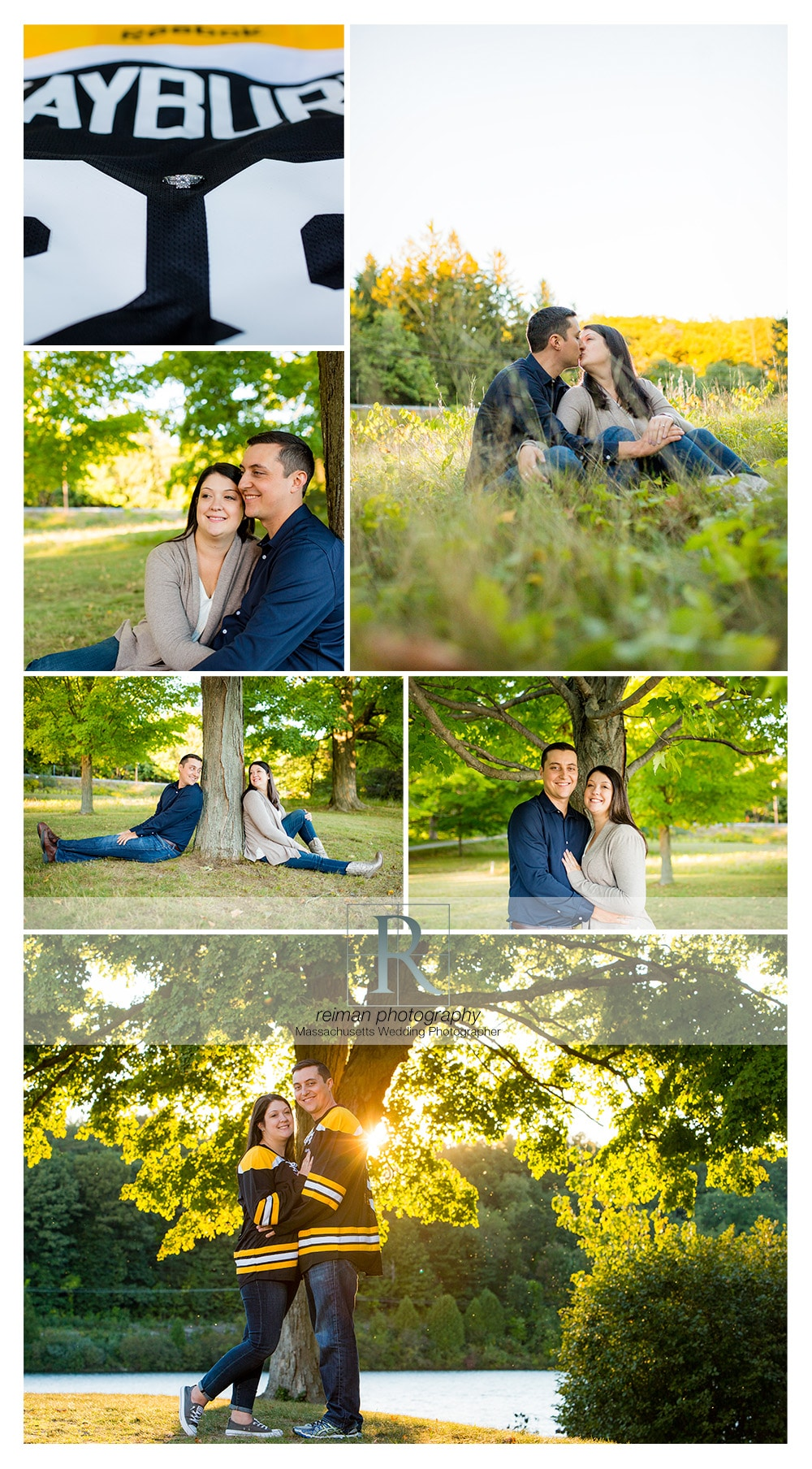Fall, Engagement Session, Old Stone Church, Bruins