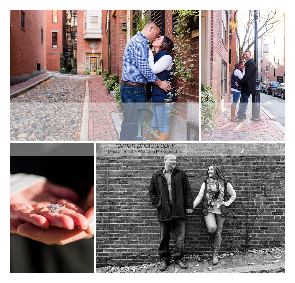 Beacon Hill Engagement, Boston, Reiman Photography