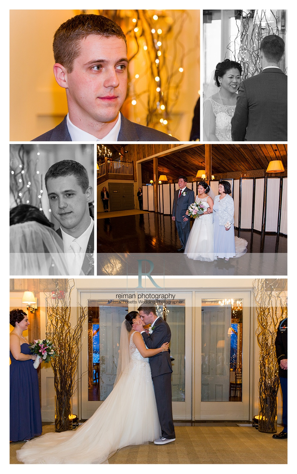 Winter Wedding, The Barn at Gibbet Hill, Reiman Photography