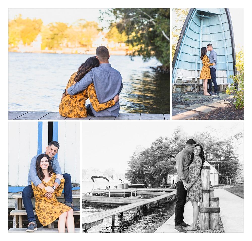 Webster Lake Engagement Session, Sunset, Fall, Lake Chargoggagoggmanchauggagoggchaubunagungamaugg