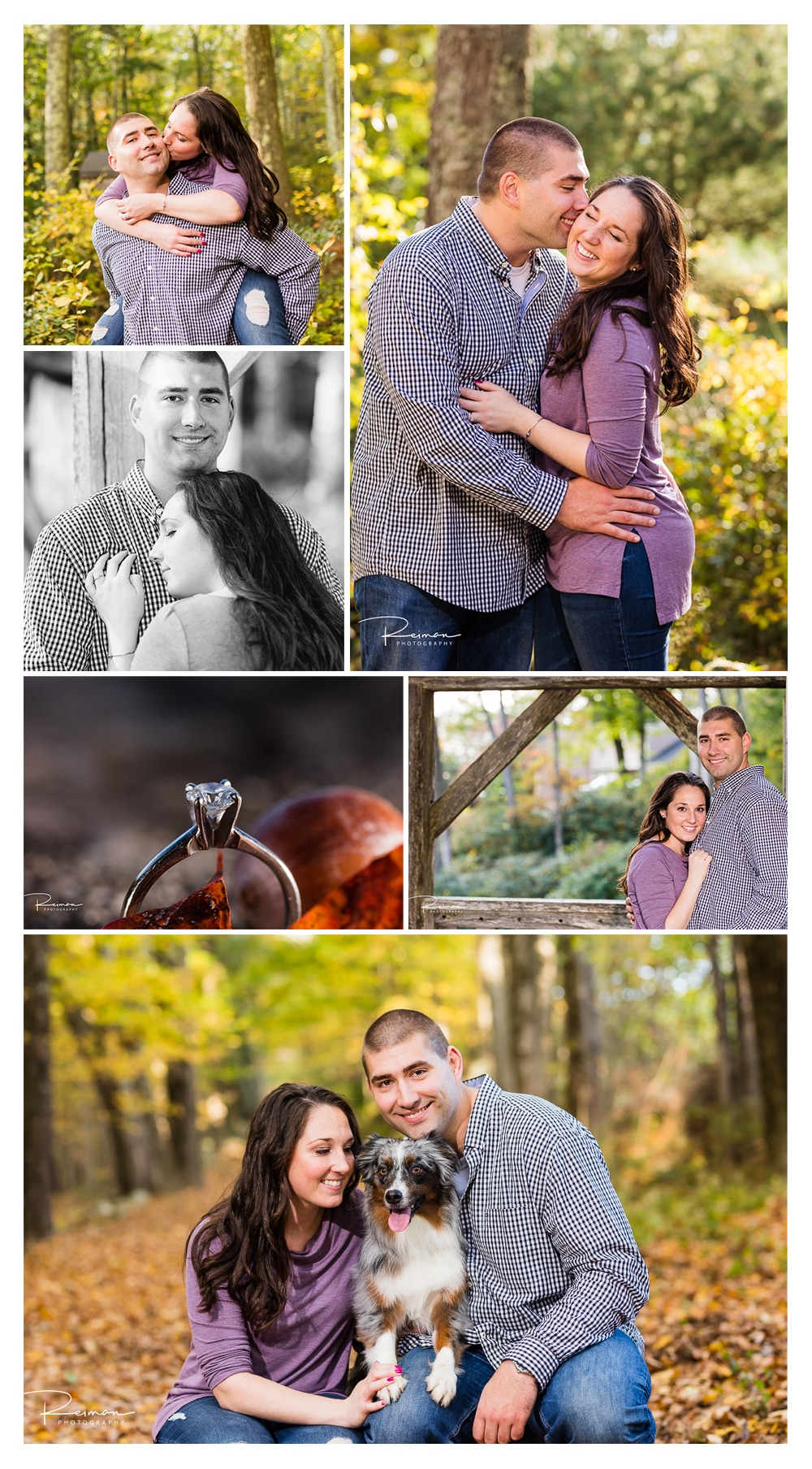 Moore State Park, Fall, Engagement Session, October, Reiman Photography