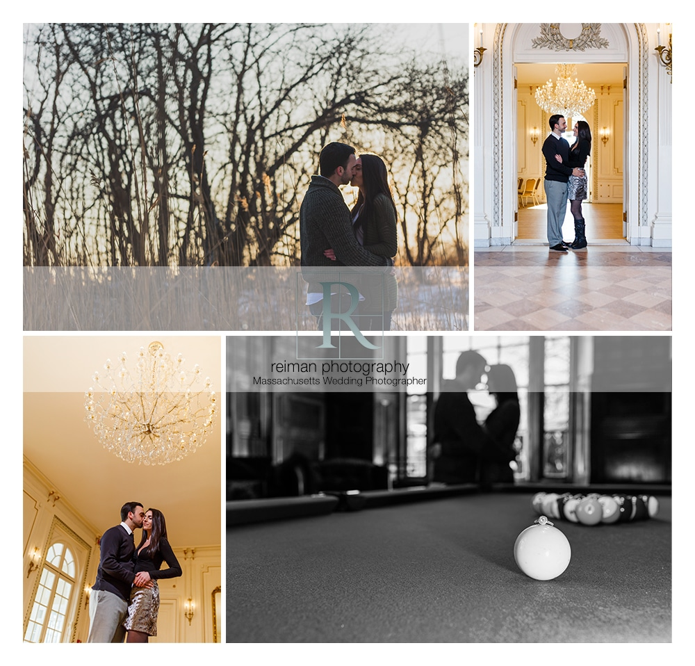 Tupper Manor, Engagement Session, Winter, Reiman Photography