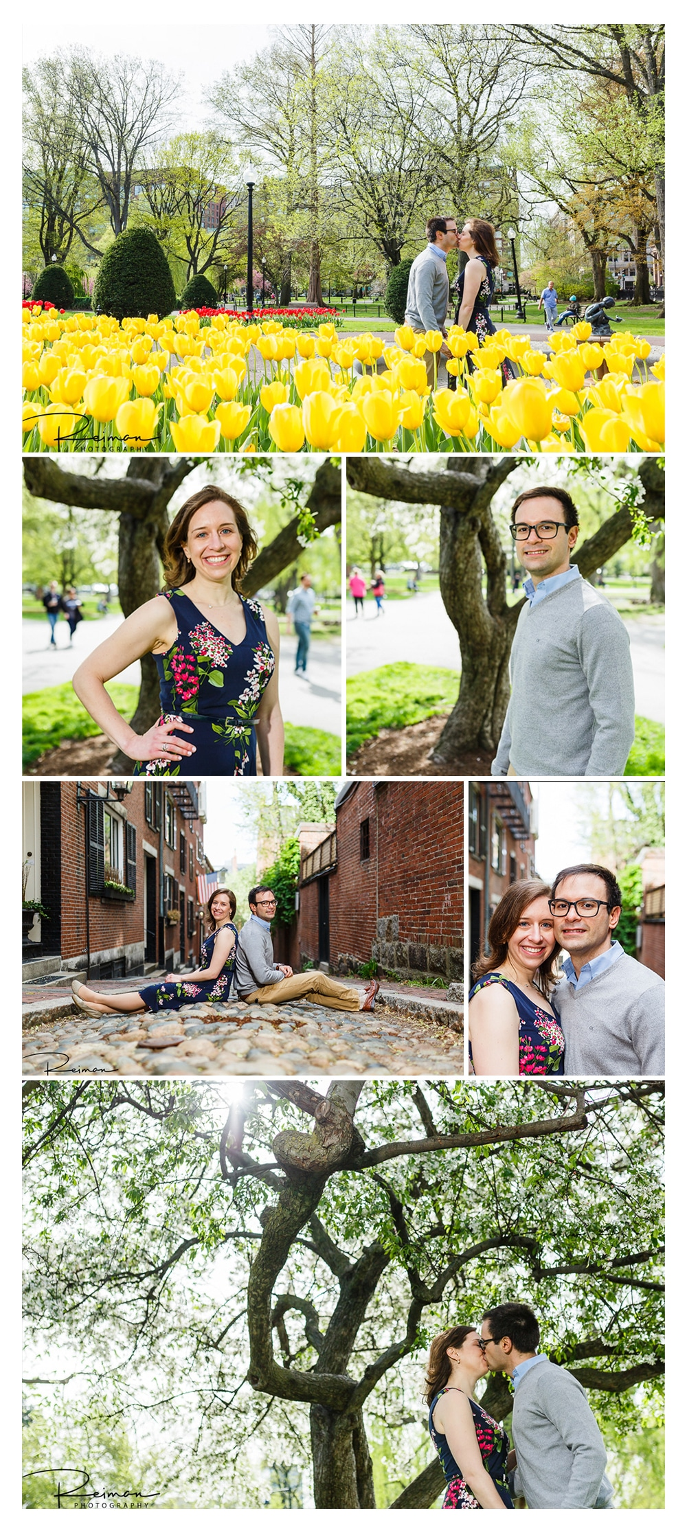 Boston, Engagement Session, Reiman Photography, Public Garden