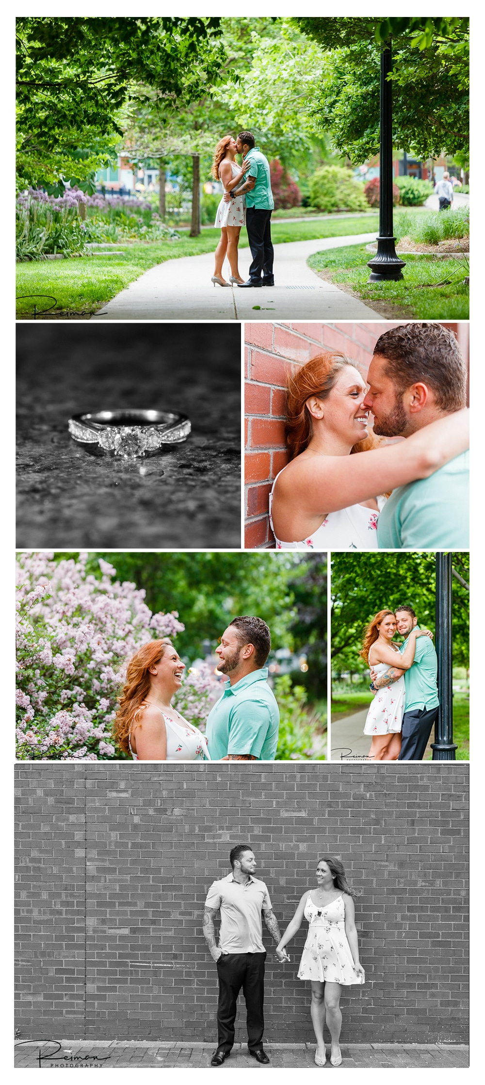 Boston, Engagement Session, Reiman Photography, Spring
