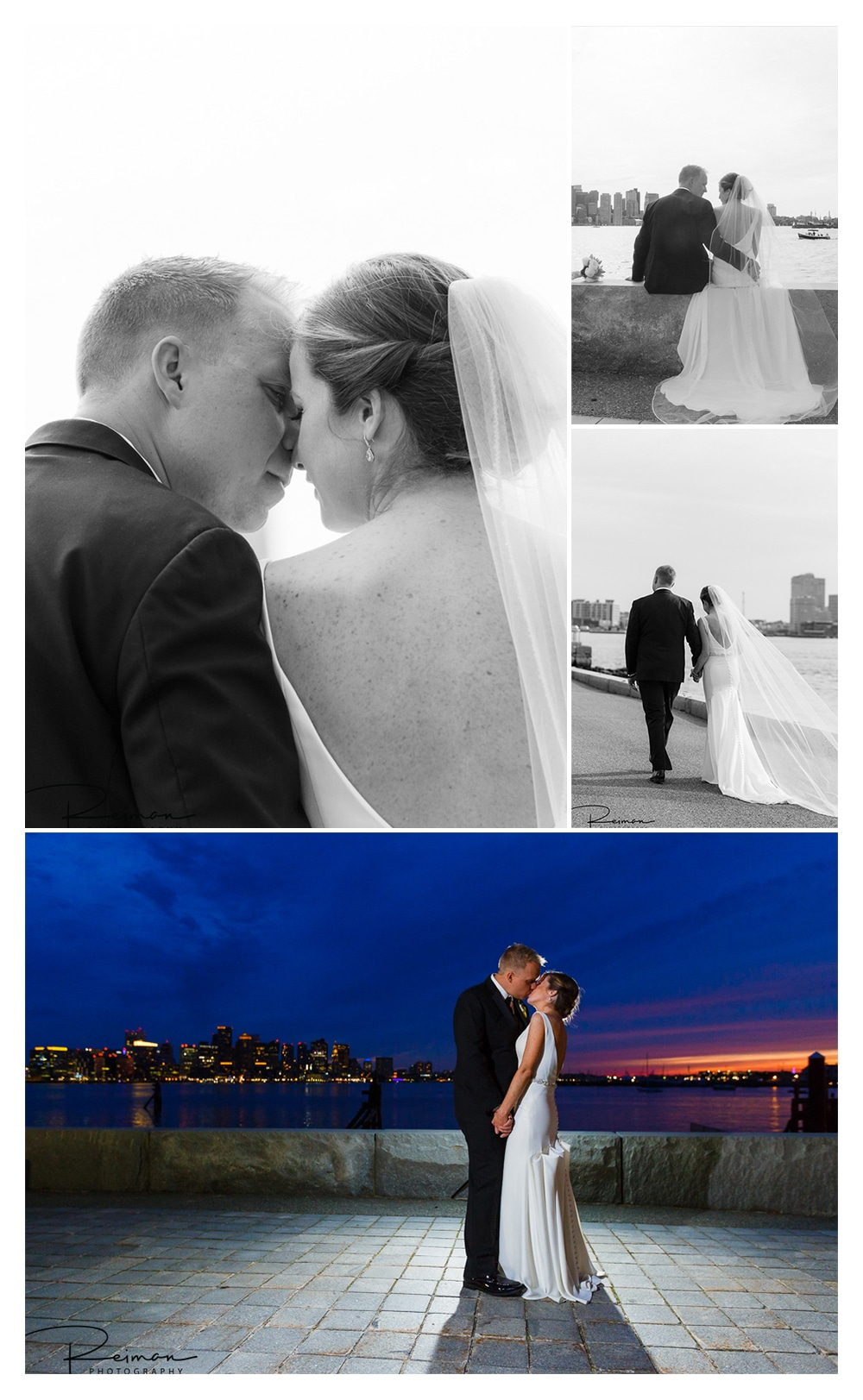 Hyatt Regency Boston Harbor Wedding, Boston Wedding Photographer, Reiman Photography, May, Spring
