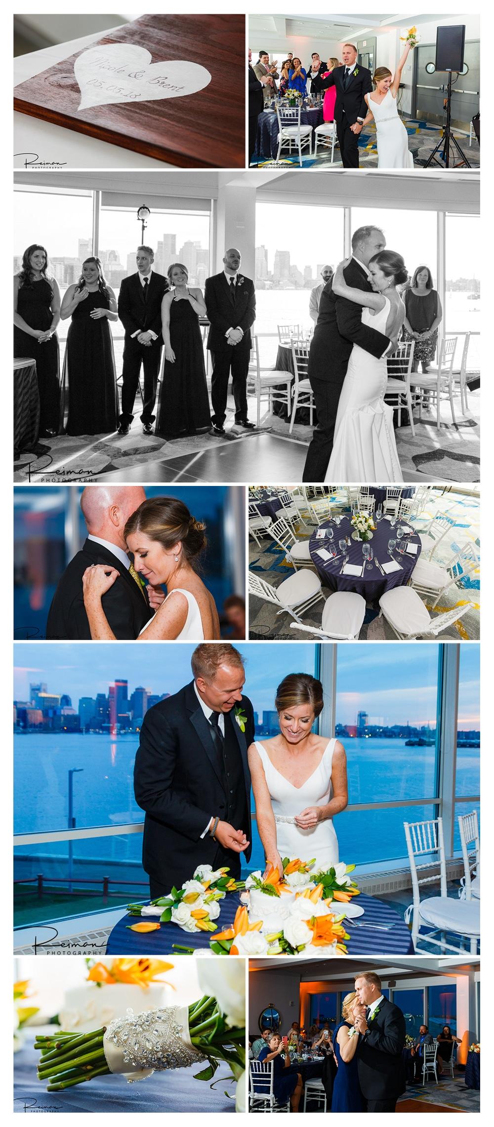 Hyatt Regency Boston Harbor Wedding, Boston Wedding Photographer, Reiman Photography, May, Spring