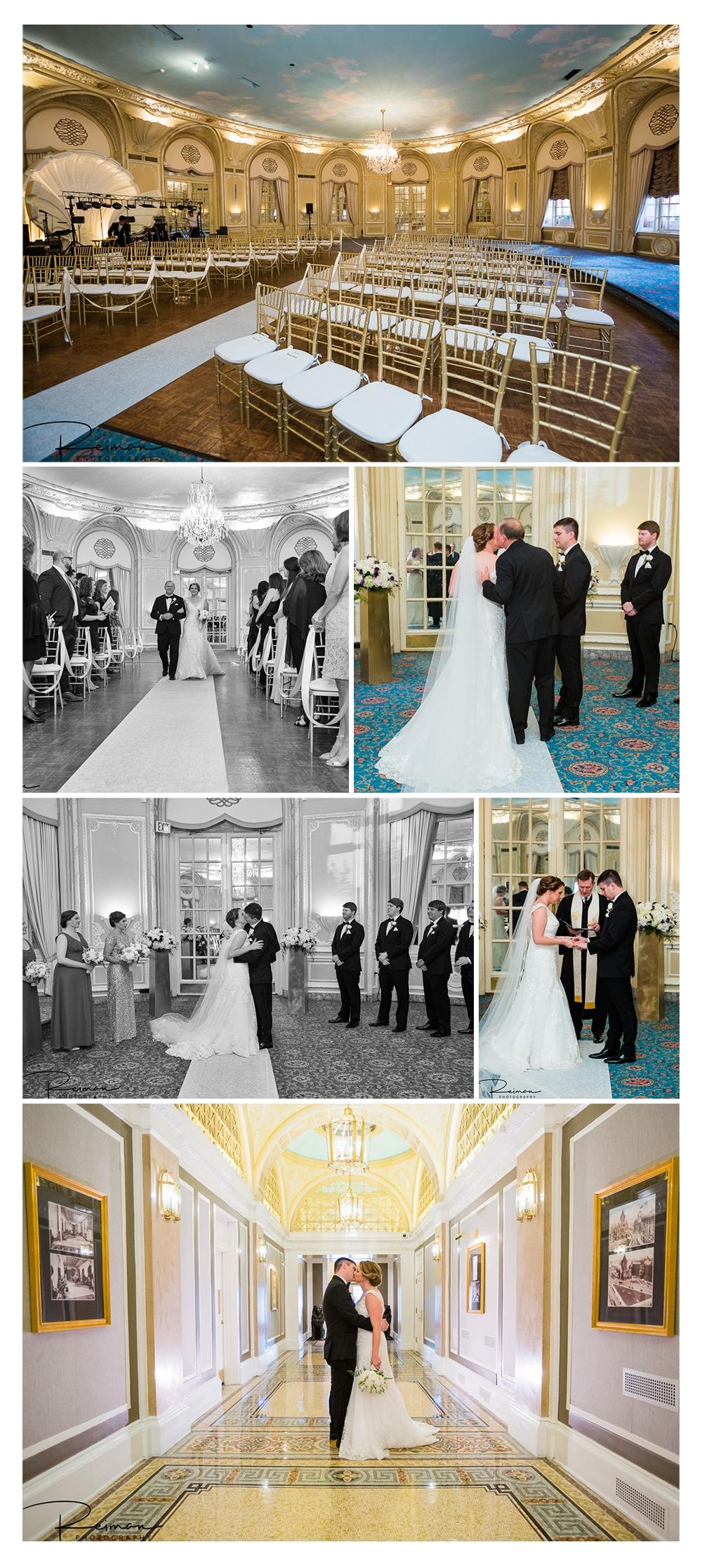 Fairmont Copley Plaza Wedding, Boston, Reiman Photography, Summer