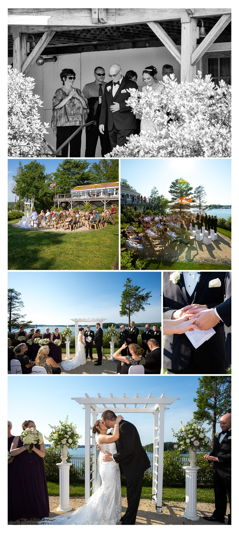 Point Breeze, Webster Lake, Reiman Photography, Wedding, June, Summer
