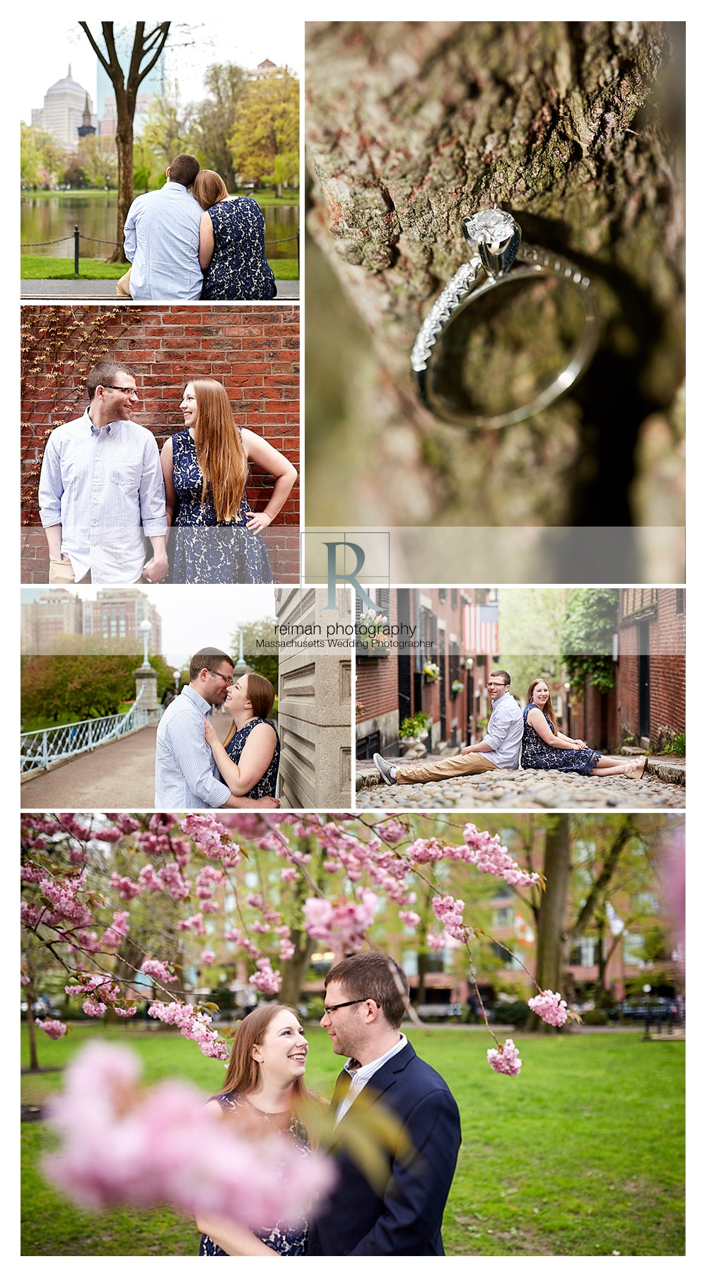 Boston, Engagement Session, Spring