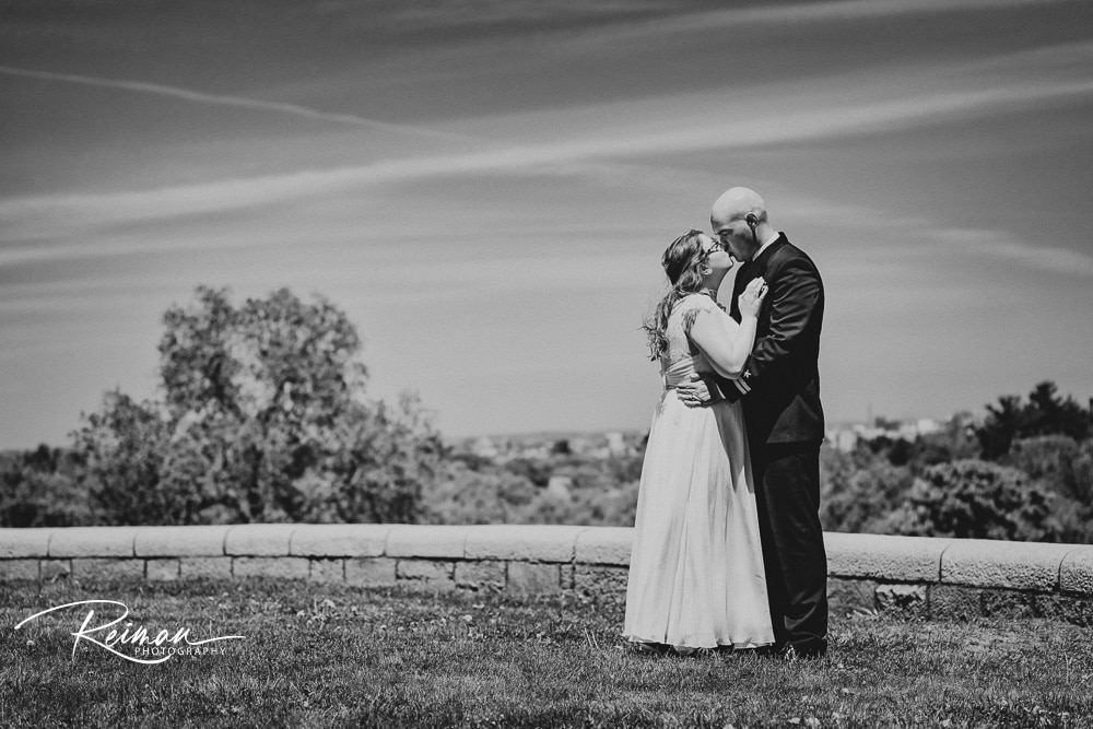 Mini-Ceremony, Wedding, Reiman Photography, Larz Anderson Park, Wedding in the time of COVID