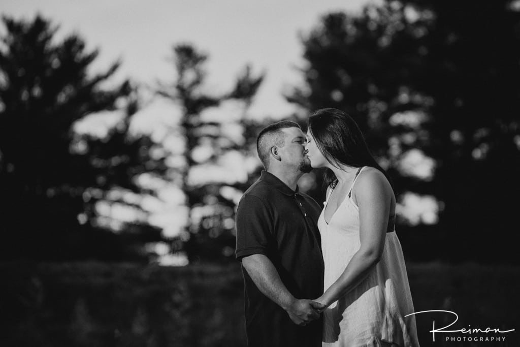 Cathedral of the Pines, New Hampshire, Engagement Session, Reiman Photography