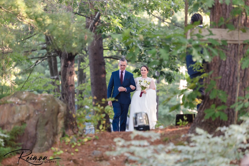 Wedding, Wedding Ceremony, Reiman Photography, Lake Wedding, Love in the time of COVID